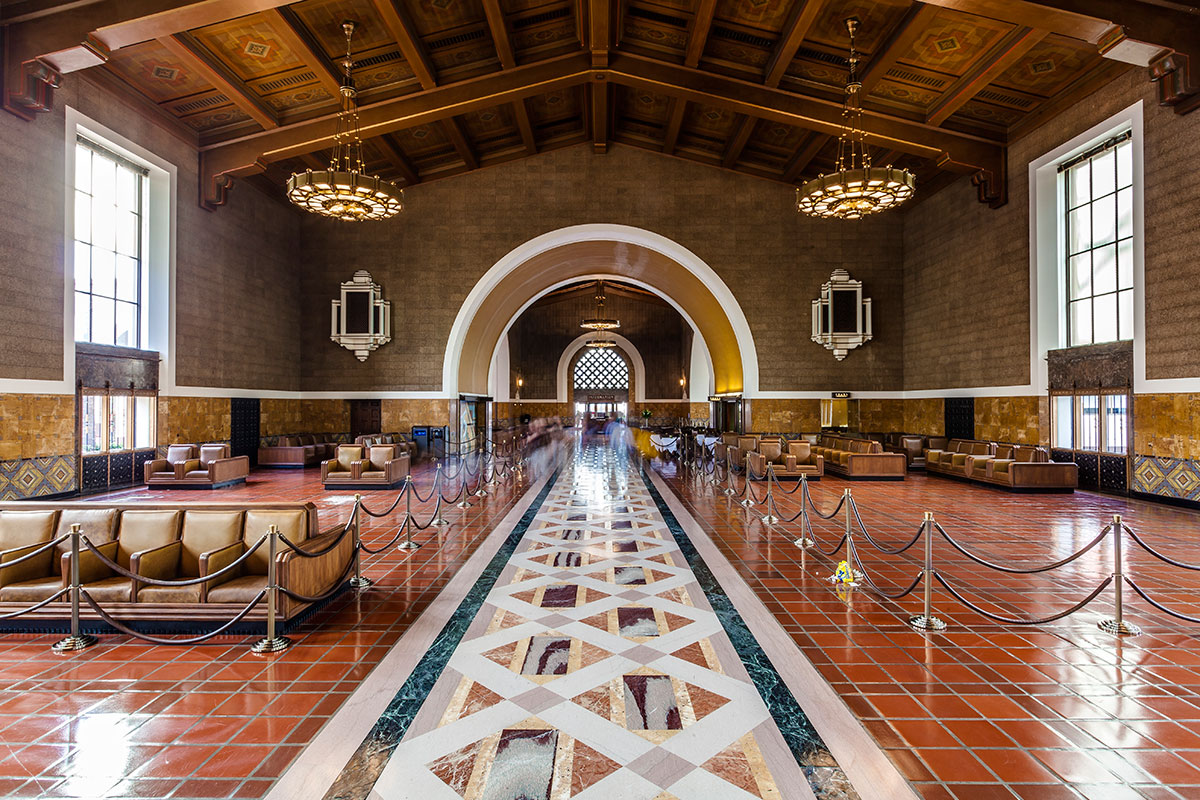 Architecture Gallery Union Station Los Angeles